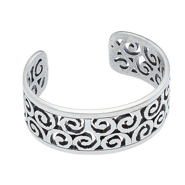 Tendril-Silver Bracelet