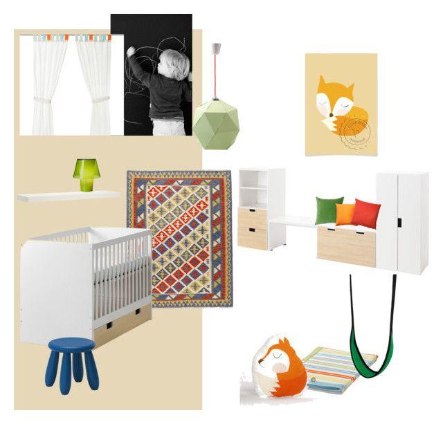B gyerek 3 by reka-palyi on Polyvore featuring interior, interiors, interior design, home, home decor, interior decorating, Heal's, Vivaraise, Pillow Decor and Mammut