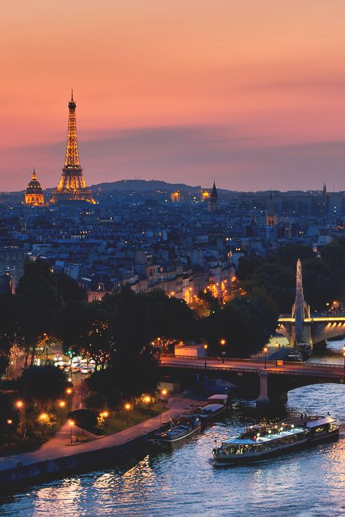 "Paris, je t'aime | EXQUISITE The night-time combo boat and bus tour of the ""City of Lights"" is stunning!"