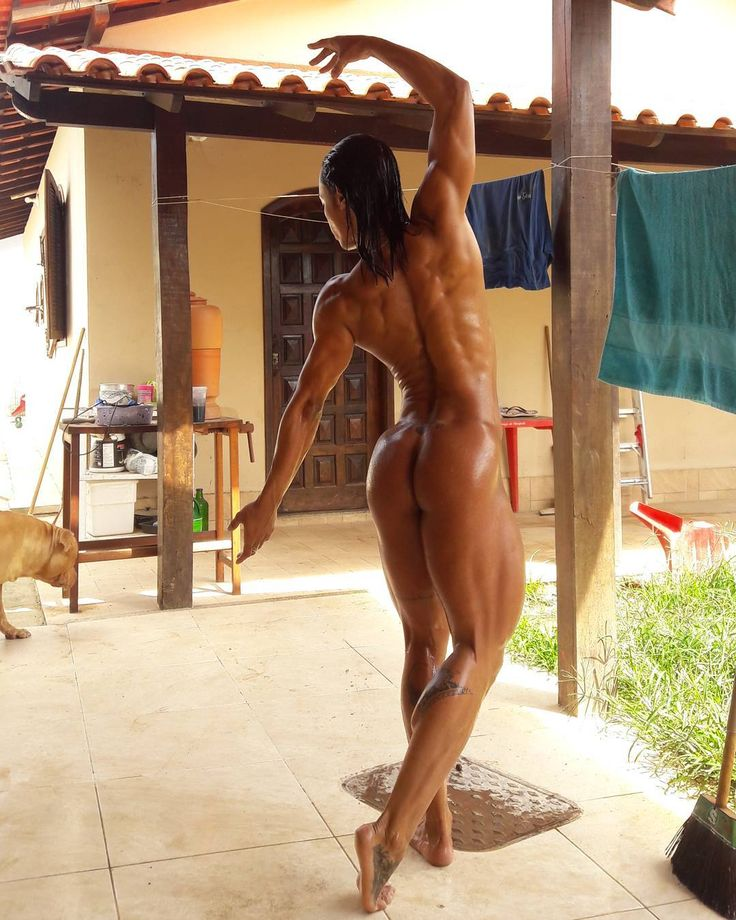 I love muscle girls nude-2805