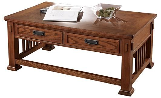 Mission Style Coffee Table Woodworking Projects Plans