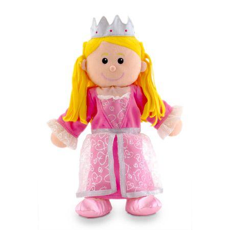 Γαντόκουκλα Πριγκίπισσα Διαστάσεις: 28 x 34 εκ. Από 3 έως 9 ετών.