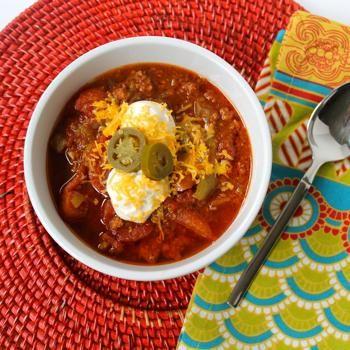 Slow Cooker Beanless Chili Recipe - Zest & Zeal & ZipList