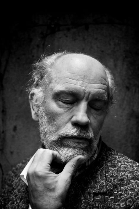 John Malkovich photographed by Paolo Pellegrin, 2010.