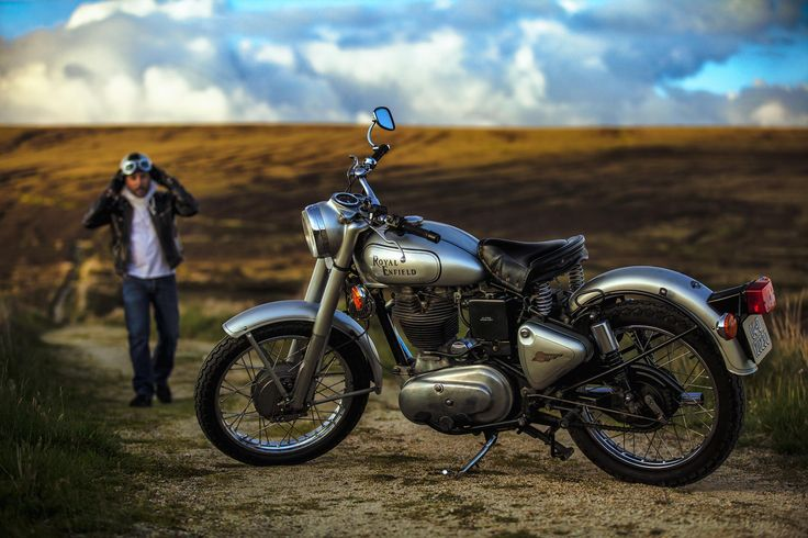 One of the shots from our recent session in Wicklow Mountains with Max and his beautiful Royal Enfield classic.