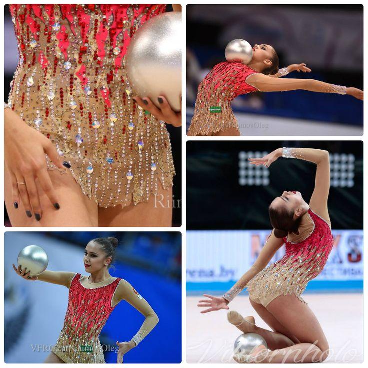 Margarita Mamun (Russia), ball 2015, music: ''Bolero'' by Andre Rieu