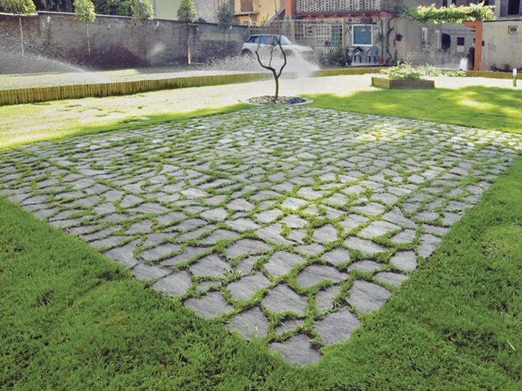 17 migliori idee su pavimentazione da giardino su - Pavimentazione giardino autobloccanti ...