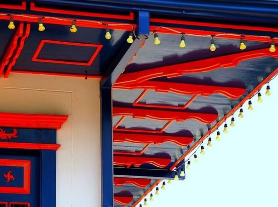 Alero, fuerte característica de la arquitectura del Paisaje Cultural Cafetero.