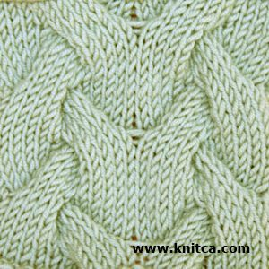 Right side of knitting stitch pattern   Cable 3 knitting stiches Pinteres...