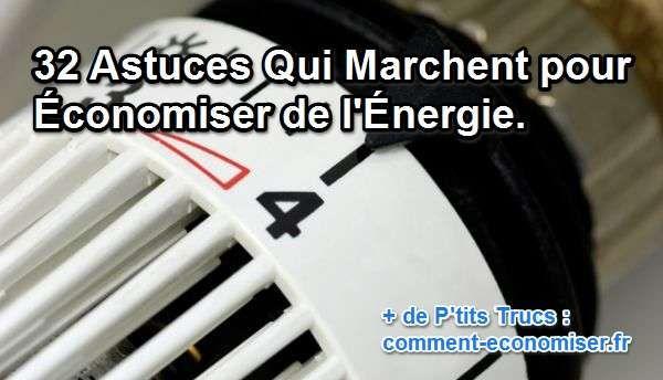 Votre facture d'électricité vous dresse les cheveux sur la tête ? Vous en avez assez de trop payer et voulez économiser un peu ? Pas de soucis, des astuces toutes simples existent.  Découvrez l'astuce ici : http://www.comment-economiser.fr/astuces-economiser-energie.html?utm_content=buffer34ddb&utm_medium=social&utm_source=pinterest.com&utm_campaign=buffer