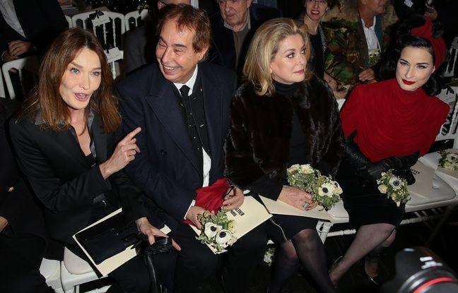 Après Nabilla, c'est Carla Bruni qui exaspère Catherine Deneuve au défilé Jean-Paul Gaultier
