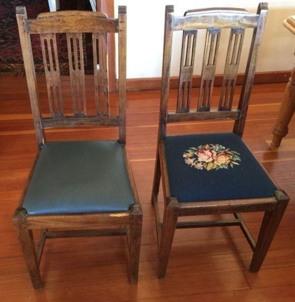 8x Scroll Top Stinkwood Chairs R7 450 00 Diep River Gumtree