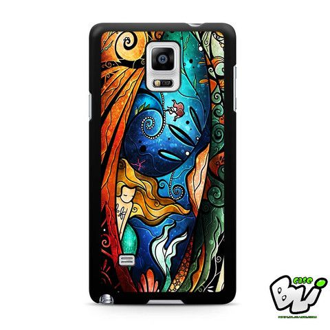 Ariel The Little Mermaid Samsung Galaxy Note 4 Case