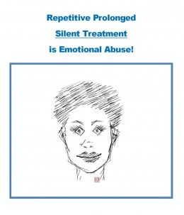 Are you subject to repetitive cycles of silent treatment from your partner?  A favored tactic used by my Narc!