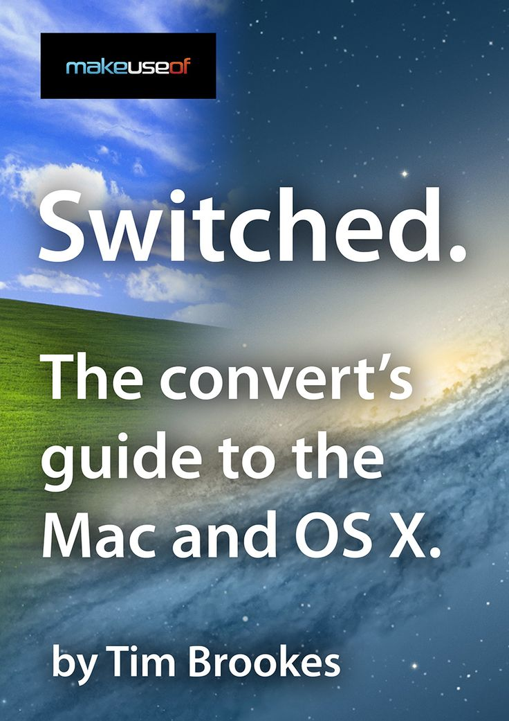 "Thinking of switching from your Windows-based PC to a Mac? Learn everything you need to know in order to make that transition painless: read ""Switched: The Convert's Guide to the Mac and OS X"". From MakeUseOf staff writer Tim Brookes., our latest guide explains how to use a Mac from the perspective of a lifelong Windows user."