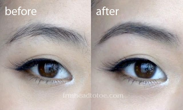 From Head To Toe: Basics: Perfect Brows Tutorial