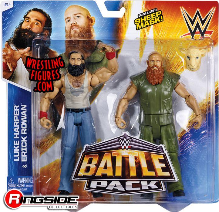 Erick Rowan & Luke Harper - WWE Battle Packs 31 | Ringside Collectibles