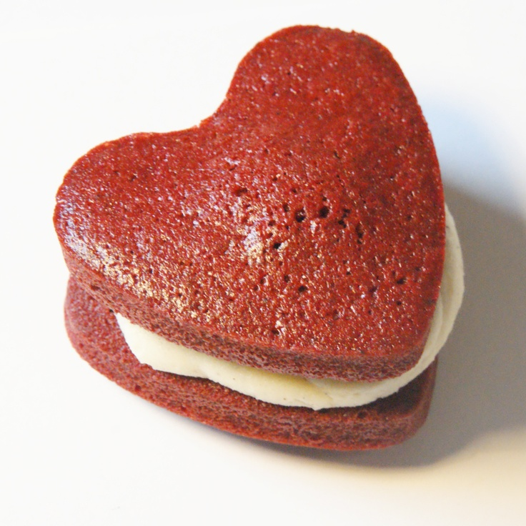 Surprise someone special with the YUMM Whoopie Hearts. www.yummcupcakes.com