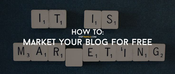Awesome content and a nice looking blog is not enough. You need to market it well and this post is about how to market your blog for free.
