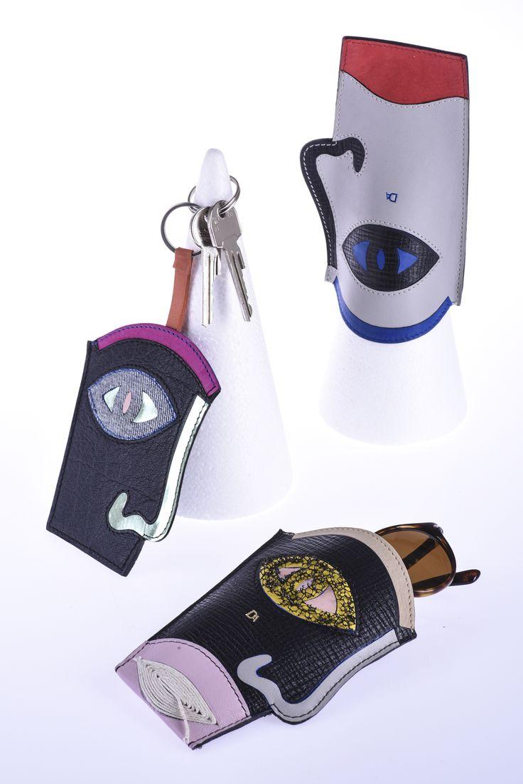 DENISA ADOLFOVÁ / leather cases for glasses or telephone