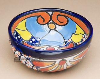 Painted Talavera Salsa Bowl (p484)