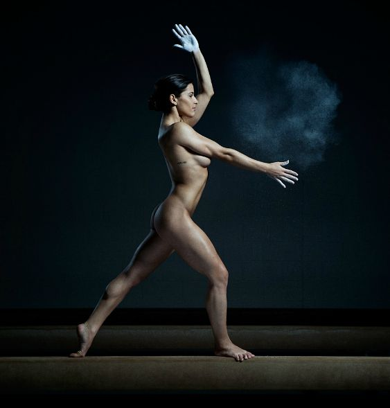 Alicia Sacramone (ESPN's body issue). one of my all-time favorite gymnasts