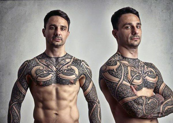 100 Norse Tattoos For Men Medieval Norwegian Designs Norse Tattoo Chest Tattoo Men Chest Tattoo
