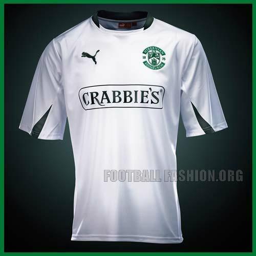 Hibernian FC PUMA 2012/13 Away Kit