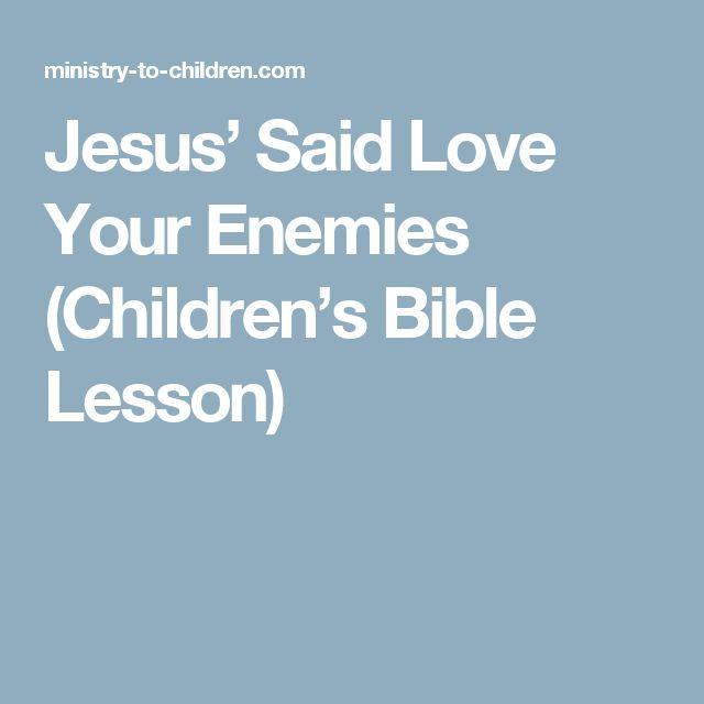 Bible Quotes Enemies: 1000+ Ideas About Love Your Enemies On Pinterest