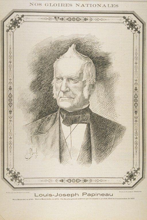 Maison de Louis-Joseph Papineau à Montréal - Articles   Encyclopédie du…
