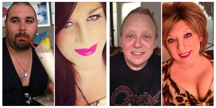 Transvestite makeup guide