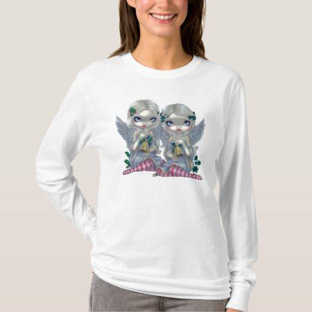 The Holly and the Ivy SHIRT christmas fairy angel - click/tap to personalize and buy