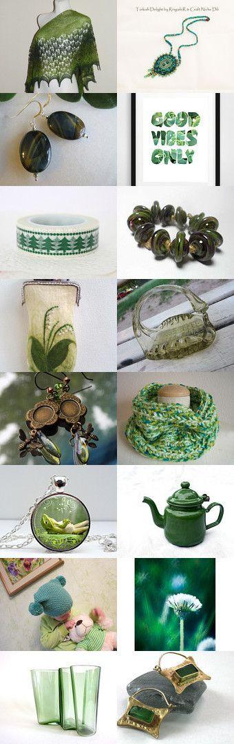 About Green by Marlena Rakoczy on Etsy--Pinned with TreasuryPin.com