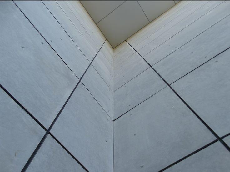 Revestimiento exterior Equitone Tectiva / Placa de Fibrocemento Etercolor   Pizarreño