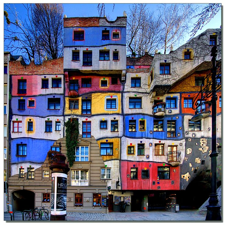 1000 ideas about hundertwasser bilder on pinterest for Architecture hundertwasser