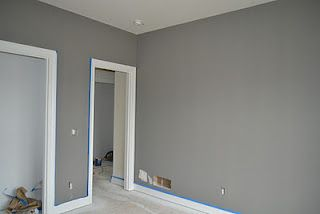 Sherwin Williams Dovetail.... This is the color I want our bedroom walls to be :)