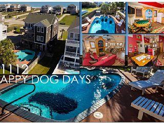 1112 Happy Dog Days Pool Hot Tub