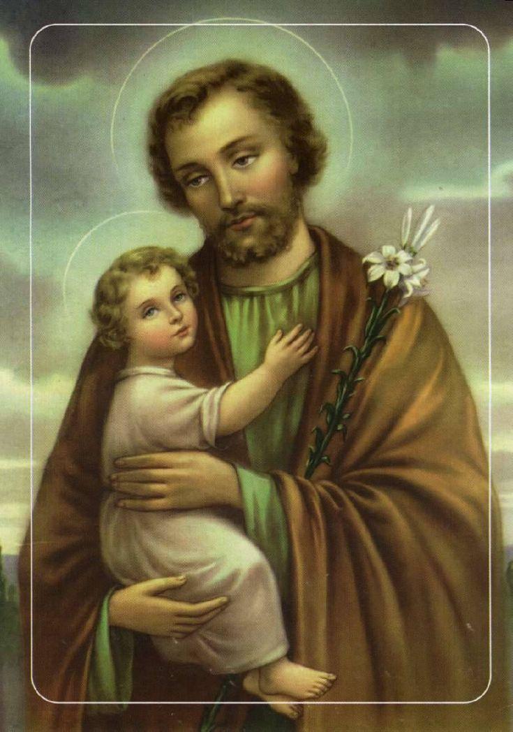 San José, esposo de María y padre adoptivo de Jesus