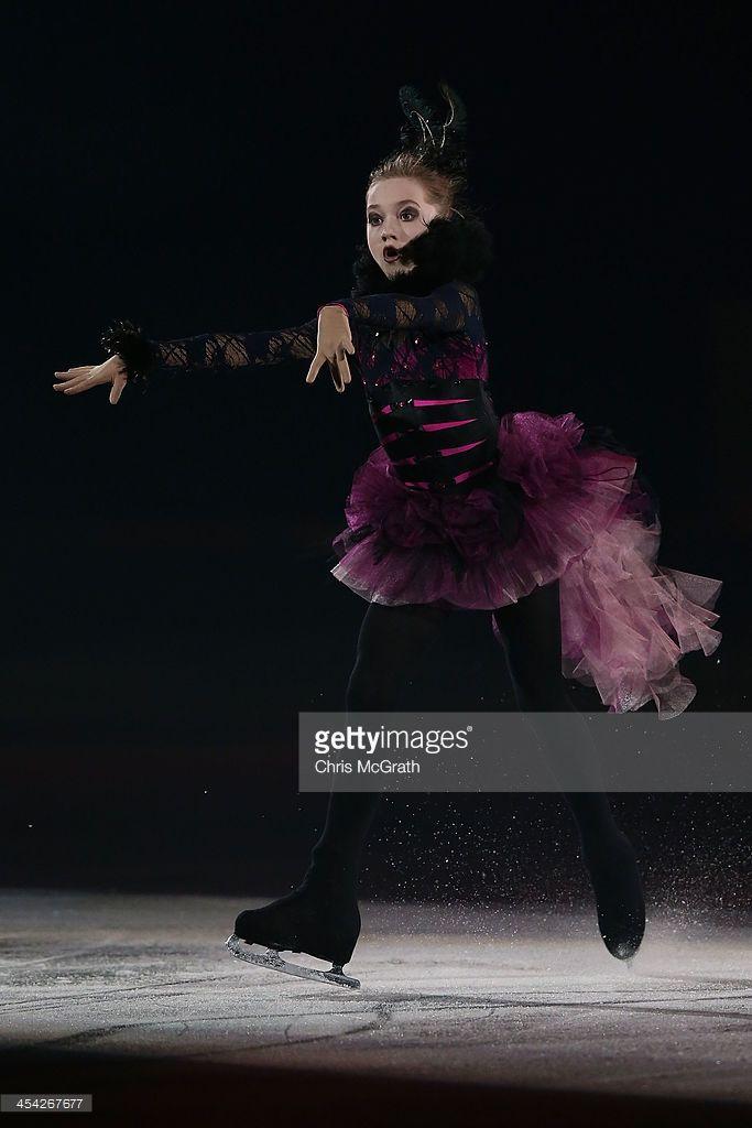 Elena Radinova of Russia performs her routine in the ISU Gala during day four of the ISU Grand Prix of Figure Skating Final 2013/2014 at Marine Messe Fukuoka on December 8, 2013 in Fukuoka, Japan.