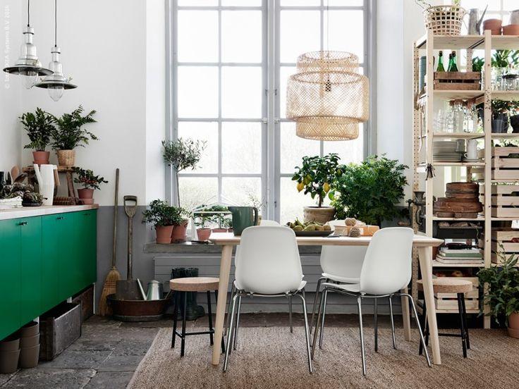 Ett grönskande kök | IKEA Livet Hemma – inspirerande inredning för hemmet