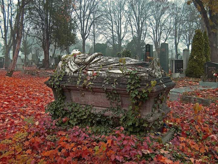 """Cemetery......OP: """"BEAUTIFUL, BUT A LITTLE EERIE......BUT BEAUTIFUL NONETHELESS."""" I think """"eerie"""" was kind of the point, pinner...."""