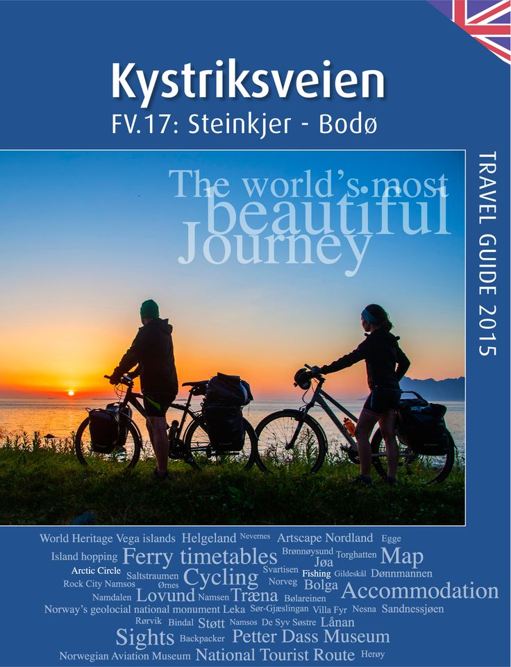 The 2015 edition of Kystriksveien travel guide.  Order a free copy on www.travel-shop.no