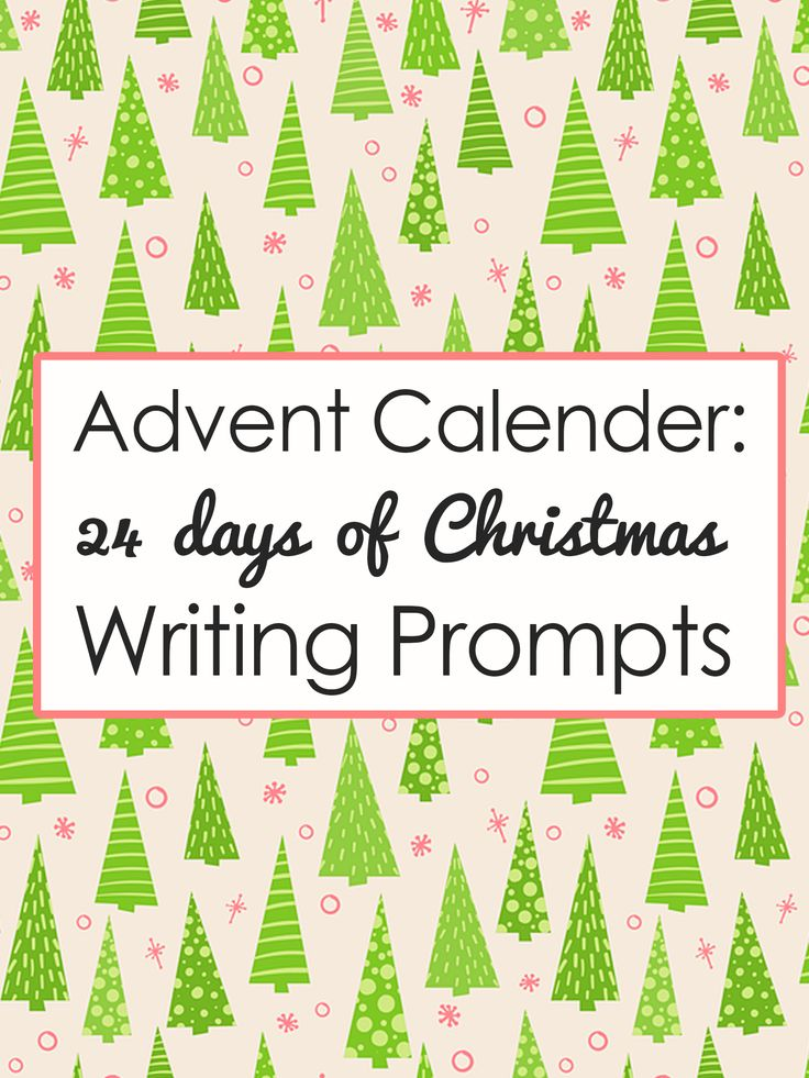 Check out these 24 days of Christmas writing prompts to get ready for Christmas. Come back every day to get a fun and surprising...