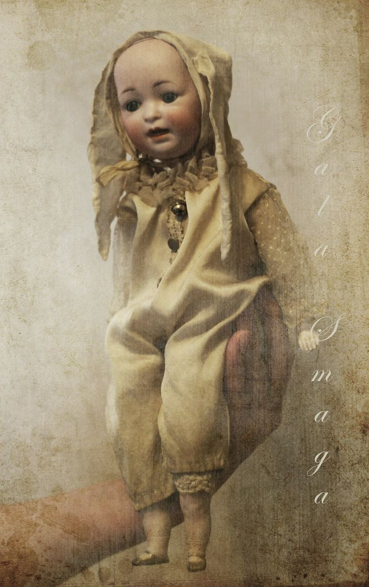 antique head doll by Gala Smaga