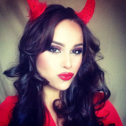 Makeup Ideas For Female Devil