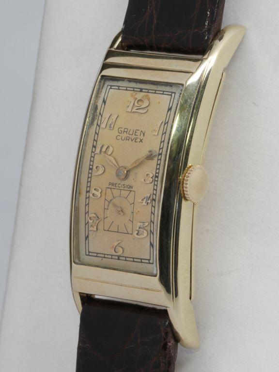 12 Best Gruen Curvex Watch Images On Pinterest Antique