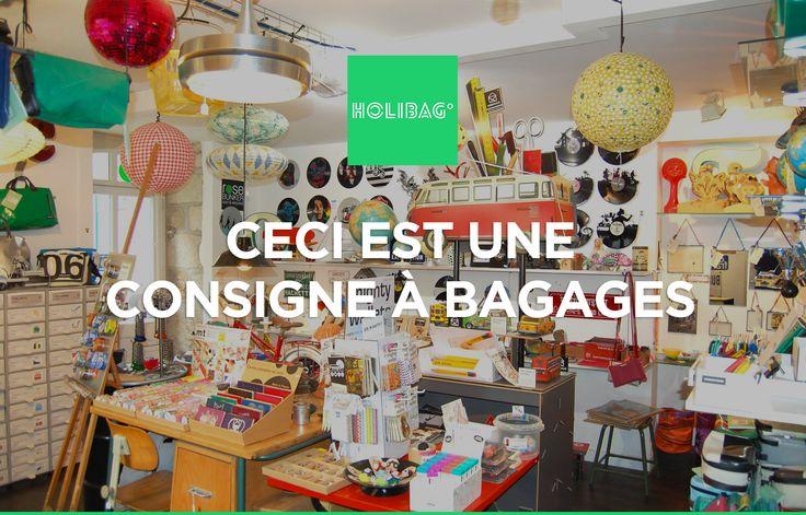 Le monde change... La consigne à bagages aussi ! Vous souhaitez déposer vos affaires chez Rose Bunker à Paris ? Alors réservez vite votre consigne sur www.holibag.io ou sur notre superbe appli : http://apple.co/1SVxqL2 :-)