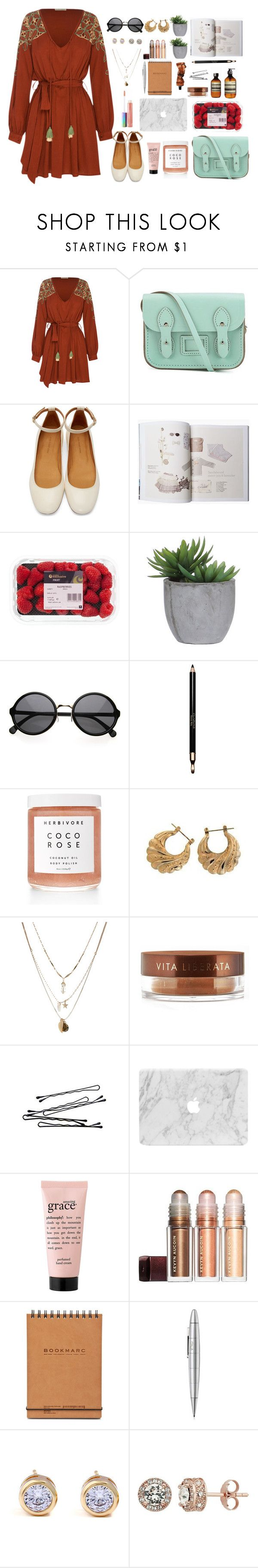 """EVERYTHING"" by shealwaysfashion ❤ liked on Polyvore featuring All That Remains, The Cambridge Satchel Company, Isabel Marant, Lux-Art Silks, Clarins, Herbivore, Orelia, Vita Liberata, philosophy and Giuliano Mazzuoli"