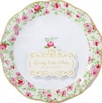 Dainty Cake Plates
