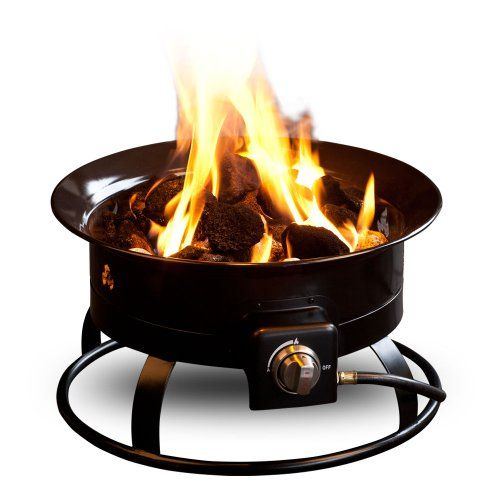 The Outland Firebowl is the perfect center piece for your outdoor living experience. Bring the ambiance of a traditional fire with you camping, tailgating, to the beach, to your backyard, patio or other outdoor living spaces. The Outland Firebowl is CSA approved and uses a standard 20lb. propane tank (not included). The firebowl burns clean and smokeless - giving off enough heat to keep your whole family warm and cozy. Package includes firebowl, 10' propane tank hose, propane tank staba...